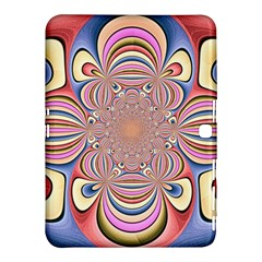 Pastel Shades Ornamental Flower Samsung Galaxy Tab 4 (10.1 ) Hardshell Case