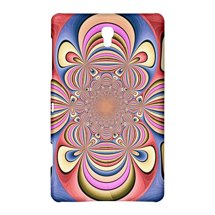 Pastel Shades Ornamental Flower Samsung Galaxy Tab S (8.4 ) Hardshell Case