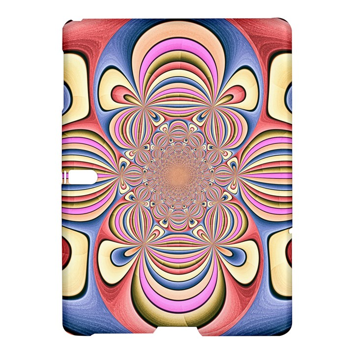 Pastel Shades Ornamental Flower Samsung Galaxy Tab S (10.5 ) Hardshell Case