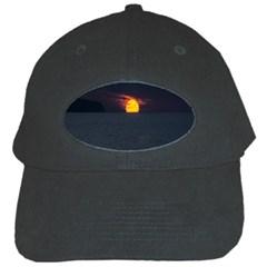 Sunset Ocean Azores Portugal Sol Black Cap
