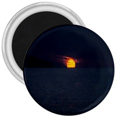 Sunset Ocean Azores Portugal Sol 3  Magnets