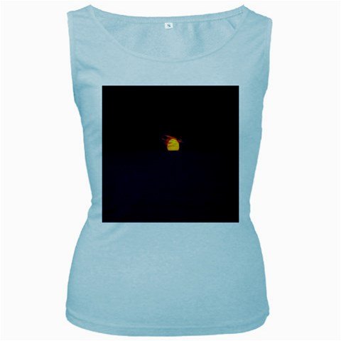 Sunset Ocean Azores Portugal Sol Women s Baby Blue Tank Top