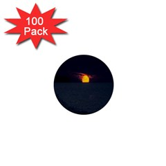 Sunset Ocean Azores Portugal Sol 1  Mini Buttons (100 pack)