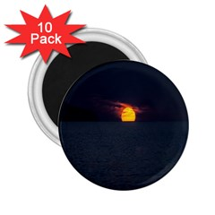 Sunset Ocean Azores Portugal Sol 2.25  Magnets (10 pack)