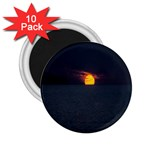 Sunset Ocean Azores Portugal Sol 2.25  Magnets (10 pack)  Front
