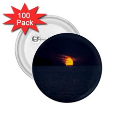 Sunset Ocean Azores Portugal Sol 2.25  Buttons (100 pack)
