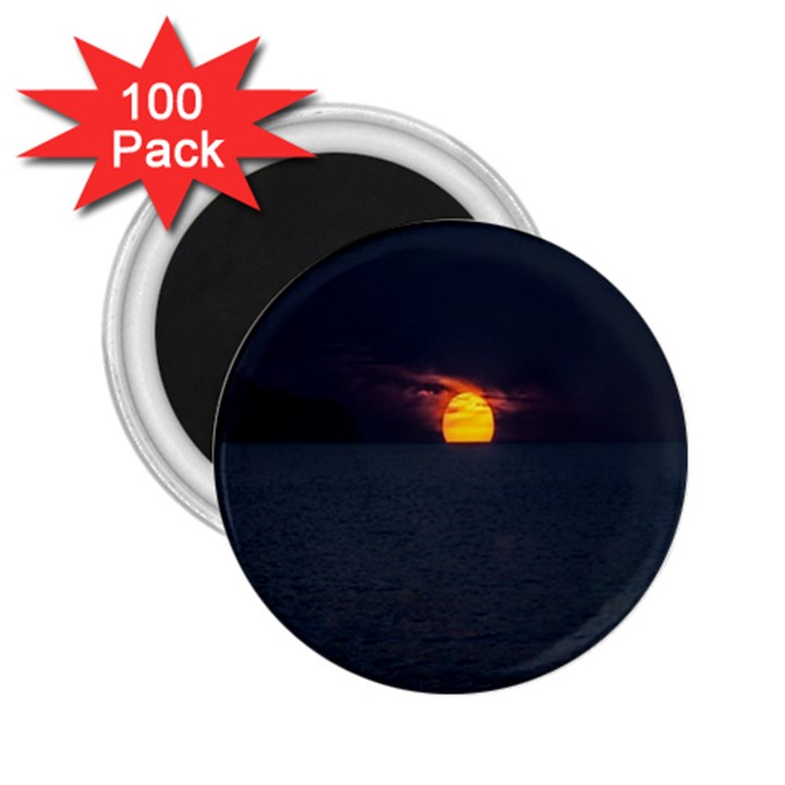 Sunset Ocean Azores Portugal Sol 2.25  Magnets (100 pack)
