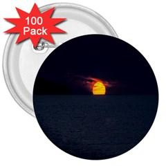 Sunset Ocean Azores Portugal Sol 3  Buttons (100 pack)