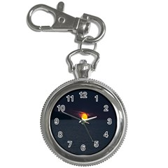 Sunset Ocean Azores Portugal Sol Key Chain Watches