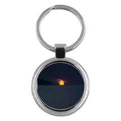 Sunset Ocean Azores Portugal Sol Key Chains (Round)