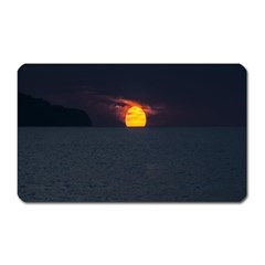 Sunset Ocean Azores Portugal Sol Magnet (Rectangular)