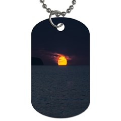 Sunset Ocean Azores Portugal Sol Dog Tag (One Side)