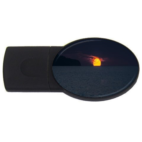 Sunset Ocean Azores Portugal Sol USB Flash Drive Oval (2 GB)