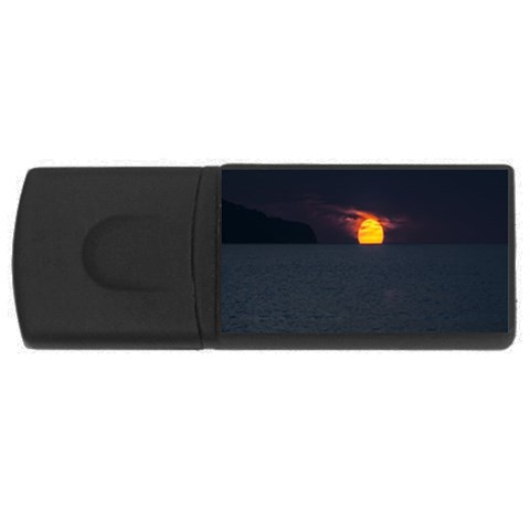 Sunset Ocean Azores Portugal Sol USB Flash Drive Rectangular (1 GB)