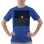 Sunset Ocean Azores Portugal Sol Dark T-Shirt Front