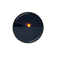 Sunset Ocean Azores Portugal Sol Hat Clip Ball Marker (10 pack)