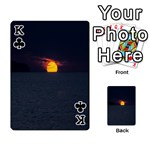 Sunset Ocean Azores Portugal Sol Playing Cards 54 Designs  Front - ClubK