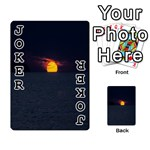 Sunset Ocean Azores Portugal Sol Playing Cards 54 Designs  Front - Joker1