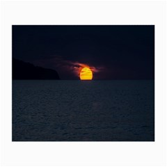 Sunset Ocean Azores Portugal Sol Small Glasses Cloth (2-Side)