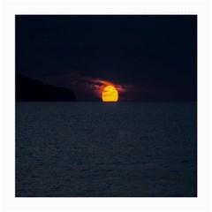 Sunset Ocean Azores Portugal Sol Medium Glasses Cloth