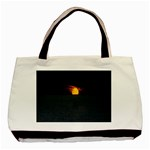 Sunset Ocean Azores Portugal Sol Basic Tote Bag (Two Sides) Front