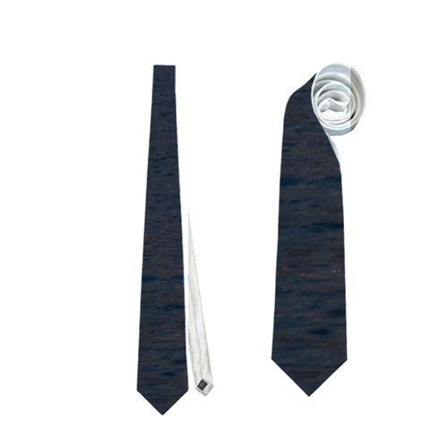 Sunset Ocean Azores Portugal Sol Neckties (One Side)