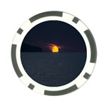 Sunset Ocean Azores Portugal Sol Poker Chip Card Guards Front