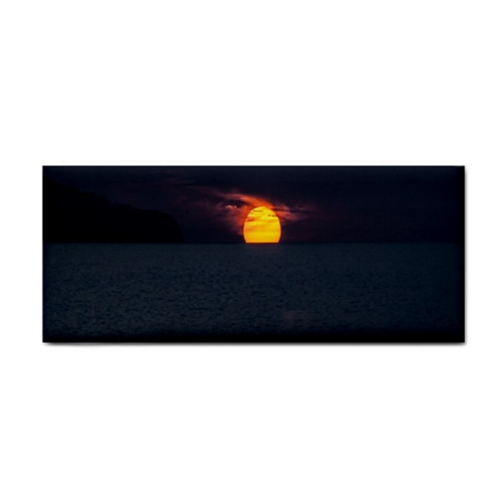 Sunset Ocean Azores Portugal Sol Hand Towel