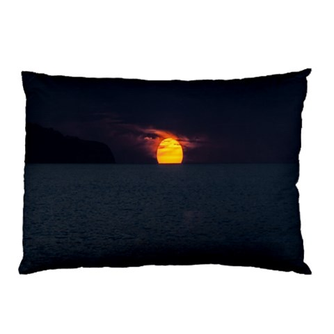 Sunset Ocean Azores Portugal Sol Pillow Case