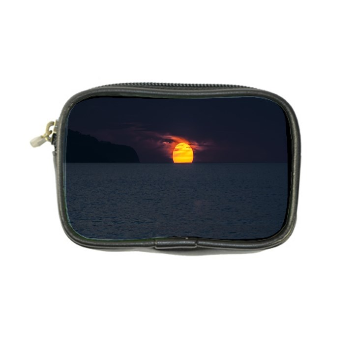 Sunset Ocean Azores Portugal Sol Coin Purse