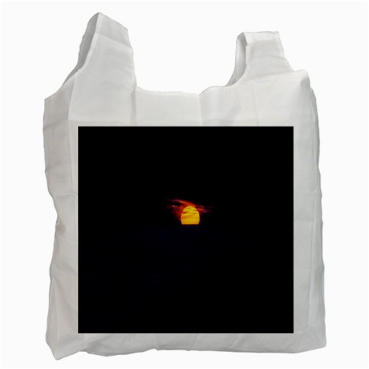 Sunset Ocean Azores Portugal Sol Recycle Bag (Two Side)