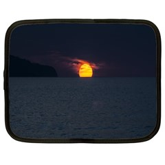 Sunset Ocean Azores Portugal Sol Netbook Case (XL)