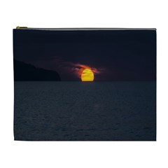 Sunset Ocean Azores Portugal Sol Cosmetic Bag (XL)