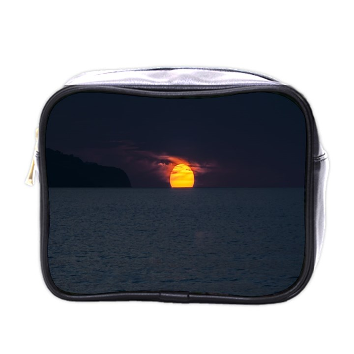 Sunset Ocean Azores Portugal Sol Mini Toiletries Bags