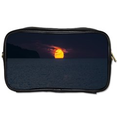 Sunset Ocean Azores Portugal Sol Toiletries Bags