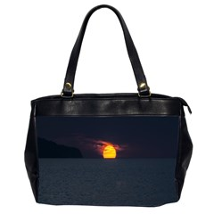 Sunset Ocean Azores Portugal Sol Office Handbags (2 Sides)