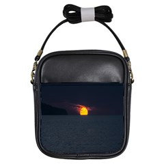 Sunset Ocean Azores Portugal Sol Girls Sling Bags