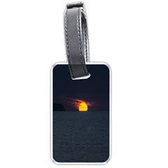 Sunset Ocean Azores Portugal Sol Luggage Tags (One Side)