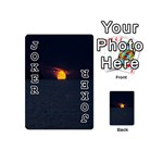 Sunset Ocean Azores Portugal Sol Playing Cards 54 (Mini)  Front - Joker1