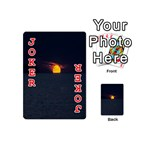 Sunset Ocean Azores Portugal Sol Playing Cards 54 (Mini)  Front - Joker2