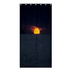 Sunset Ocean Azores Portugal Sol Shower Curtain 36  x 72  (Stall)