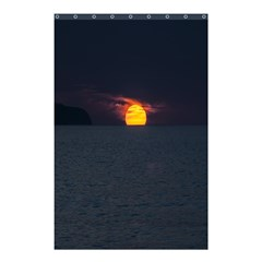 Sunset Ocean Azores Portugal Sol Shower Curtain 48  x 72  (Small)