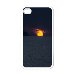 Sunset Ocean Azores Portugal Sol Apple iPhone 4 Case (White)