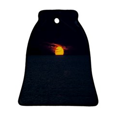 Sunset Ocean Azores Portugal Sol Bell Ornament (2 Sides)