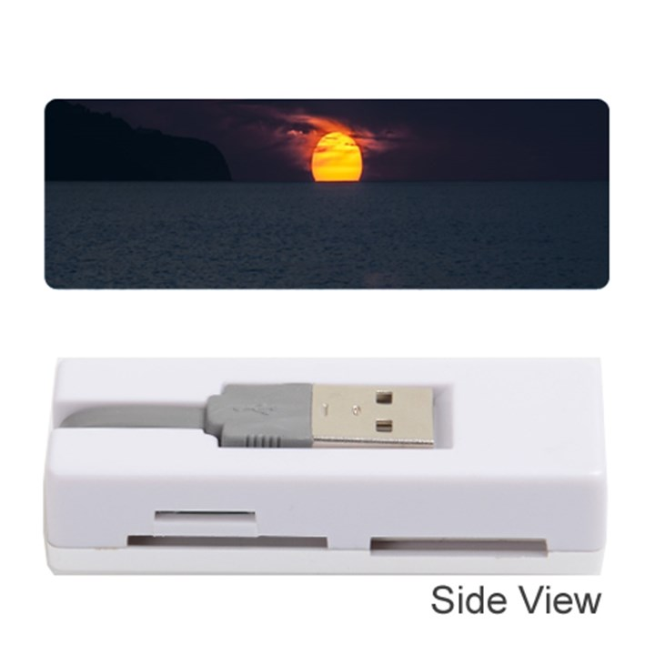 Sunset Ocean Azores Portugal Sol Memory Card Reader (Stick)