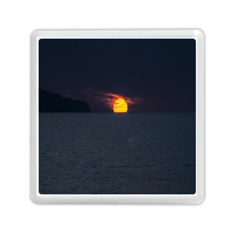 Sunset Ocean Azores Portugal Sol Memory Card Reader (Square)