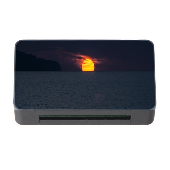 Sunset Ocean Azores Portugal Sol Memory Card Reader with CF