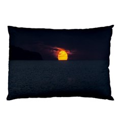 Sunset Ocean Azores Portugal Sol Pillow Case (Two Sides)