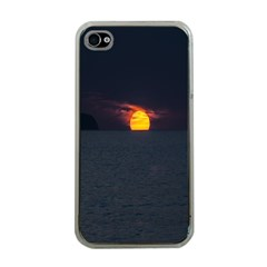 Sunset Ocean Azores Portugal Sol Apple iPhone 4 Case (Clear)