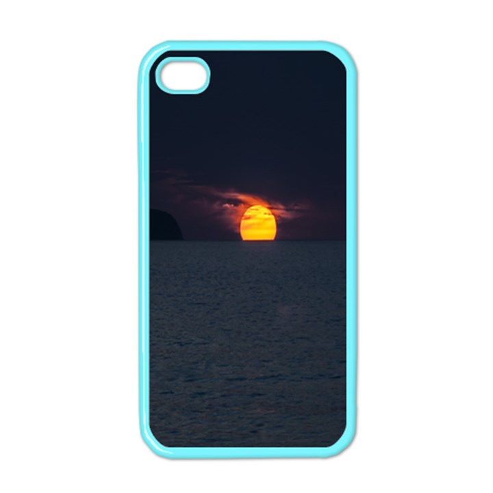 Sunset Ocean Azores Portugal Sol Apple iPhone 4 Case (Color)